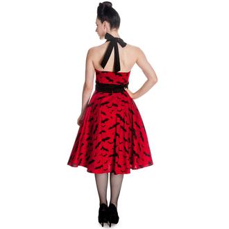 šaty dámske HELL BUNNY - Bat 50´s - Red/Blk, HELL BUNNY