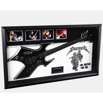 podpísaná gitara METALLICA