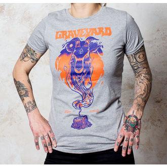 tričko dámske Graveyard - Satan - Sports Grey - BUCKANEER, Buckaneer, Graveyard