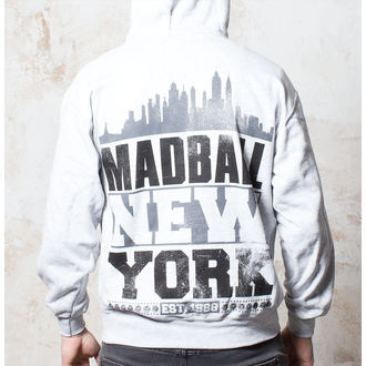 mikina pánska Madball - Skyline - Heather Grey - BUCKANEER - 042