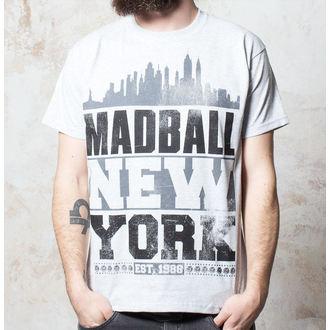 tričko pánske Madball - Skyline - Heather Grey, Buckaneer, Madball