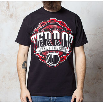 tričko pánske Terror - Chain - Black - BUCKANEER, Buckaneer, Terror