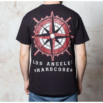 tričko pánske Terror - Compass - Black - BUCKANEER, Buckaneer, Terror