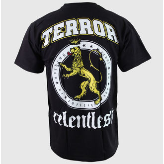 tričko pánske Terror - Relentless - Black - BUCKANEER, Buckaneer, Terror