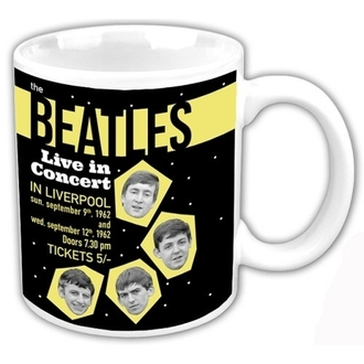 hrnček The Beatles - Live In Concert - ROCK OFF, ROCK OFF, Beatles