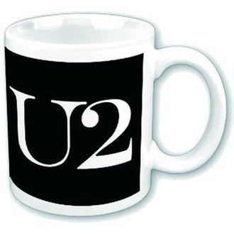 hrnček U2 - Logo - ROCK OFF, ROCK OFF, U2
