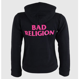 mikina dámska Bad Religion - Hot Pink - Black - KINGS ROAD, KINGS ROAD, Bad Religion
