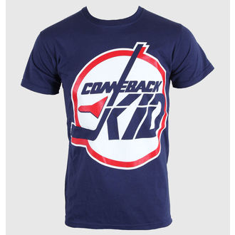 tričko pánske Comeback Kid - Jets - Blue Navy - KINGS ROAD - 00016