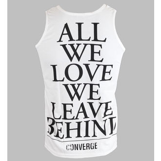 tielko pánske Converge - All We Love - White - KINGS ROAD, KINGS ROAD, Converge