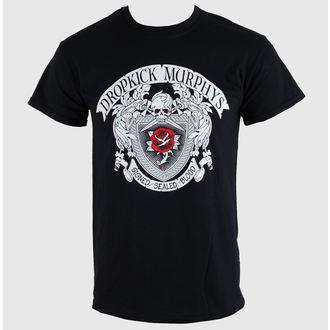 tričko pánske Dropkick Murphys - Signed And Sealed - Black - KINGS ROAD, KINGS ROAD, Dropkick Murphys