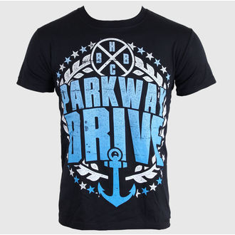 tričko pánske Parkway Drive - Anchor Bold - Black - KINGS ROAD - 54065