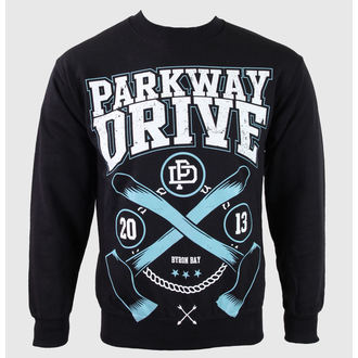 mikina pánska Parkway Drive - Axe - Black - KINGS ROAD