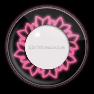 kontaktné šošovka PINK BUTTERFLY UV - EDIT, EDIT