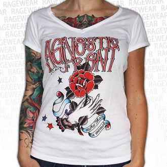 tričko dámske Agnostic Front - Memory - White - RAGEWEAR, RAGEWEAR, Agnostic Front