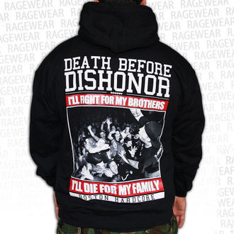 mikina pánska Death Before Dishnor - Live Shot - Black - RAGEWEAR, RAGEWEAR, Death Before Dishonor