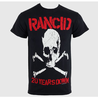 tričko pánske Rancid - 20 Years Down - Black - RAGEWEAR, RAGEWEAR, Rancid