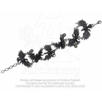 náramok Flocking Ravens - ALCHEMY GOTHIC, ALCHEMY GOTHIC