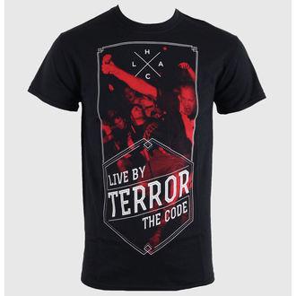 tričko pánske Terror - Hexagon - Black - RAGEWEAR, RAGEWEAR, Terror