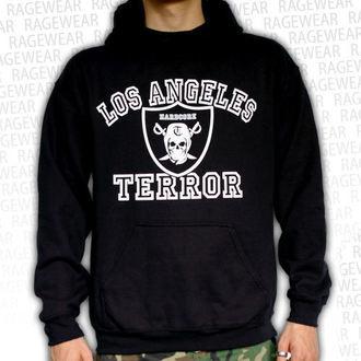 mikina pánska Terror - Los Angeles - Black - RAGEWEAR, RAGEWEAR, Terror