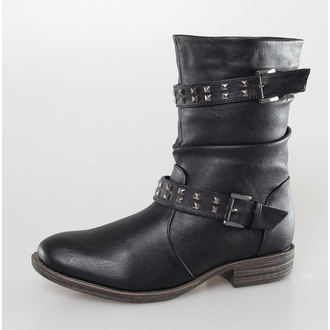 topánky dámske BRANDIT - Bikerboot - Black, BRANDIT