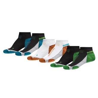 ponožky GLOBE - LEFT AND RIGHT SOCK 3 PACK, GLOBE