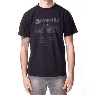 tričko pánske MEATFLY - WISHLIST B, MEATFLY