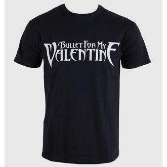 tričko pánske Bullet For My Valentine - Logo - Black - BRAVADO EU, BRAVADO EU, Bullet For my Valentine