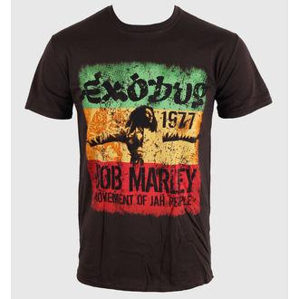 tričko pánske Bob Marley - Movement Dk - Brwn - BRAVADO EU, BRAVADO EU, Bob Marley