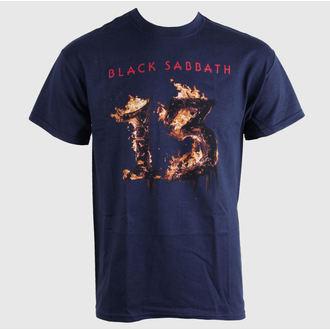 tričko pánske Black Sabbath - 13 New Album - Navy - BRAVADO EU, BRAVADO EU, Black Sabbath