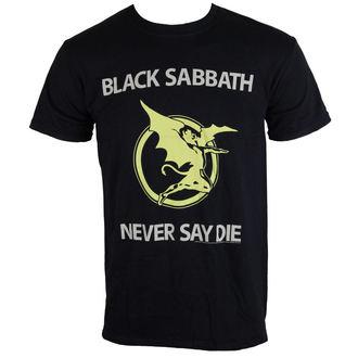 tričko pánske Black Sabbath - Never Say Die - Blk - BRAVADO EU, BRAVADO EU, Black Sabbath
