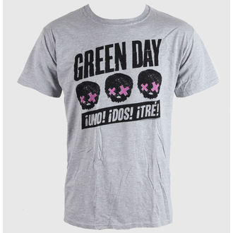 tričko pánske Green Day - Heads Better Than - Grey - BRAVADO EU, BRAVADO EU, Green Day