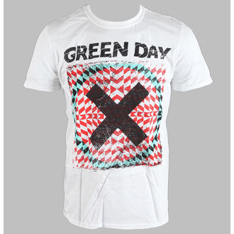 tričko pánske Green Day - Xllusion - White - BRAVADO EU, BRAVADO EU, Green Day