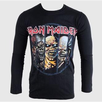 tričko pánske s dlhým rukávom Iron Maiden - Eddie Evolution - BRAVADO EU, BRAVADO EU, Iron Maiden