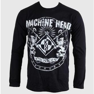 tričko pánske s dlhým rukávom Machine Head - Classic Crest - BRAVADO EU, BRAVADO EU, Machine Head