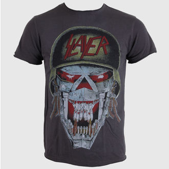 tričko pánske AMPLIFIED - Slayer - Army - Charcoal, AMPLIFIED, Slayer