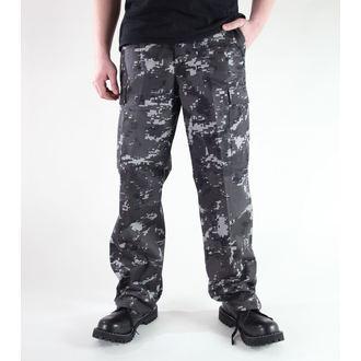 nohavice pánske MIL-TEC - US Ranger Hose - Black Digital, MIL-TEC