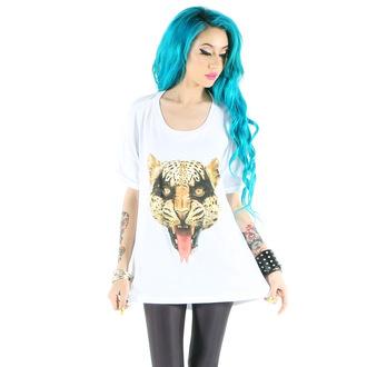tričko dámske IRON FIST - Here Kitty Drape - White, IRON FIST