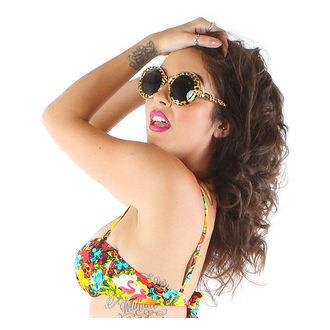 okuliare slnečné IRON FIST - Change Your Spots - Leopard, IRON FIST