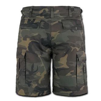 kraťasy pánske BRANDIT - Combat Shorts - Woodland, BRANDIT
