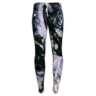 nohavice dámske (legíny) DISTURBIA - Static, DISTURBIA