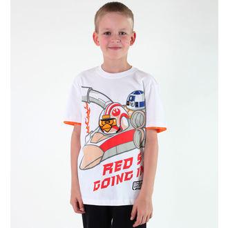 tričko chlapčenské TV MANIA - Angry Birds - White, TV MANIA