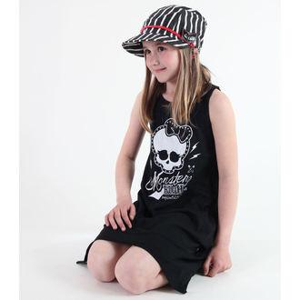 šaty dievčenská TV MANIA - Monster High - Black