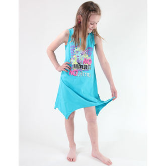 šaty dievčenská TV MANIA - Monster High - Turquise, TV MANIA
