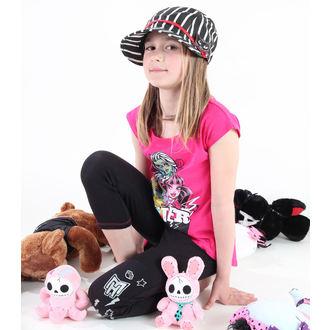set dievčenská ( tričko, legíny) - Monster High - Pink/Black - MOH 536