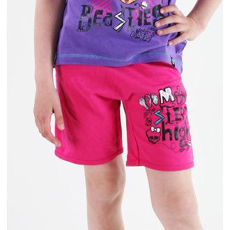 kraťasy dievčenská Monster High - Pink, TV MANIA