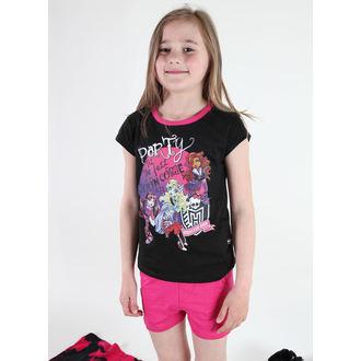 pyžamo dievčenská TV MANIA - Monster High - Black, TV MANIA