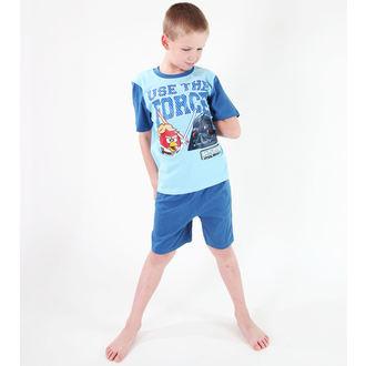 pyžamo chlapčenské TV MANIA - Angry Birds - Turquise, TV MANIA