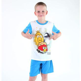 pyžamo chlapčenské TV MANIA - Angry Birds - White, TV MANIA
