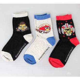 ponožky TV MANIA - Angry Birds - Black/Blue/Red, TV MANIA