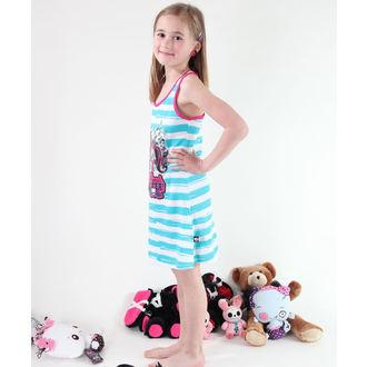 šaty dievčenská TV MANIA Monster High - White/Turquise, TV MANIA